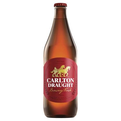 Picture of Carlton Draught Long Single 750ml Bottle
