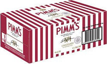 Picture of Pimms Long Lemon Premix 24 x 355ml Can-Carton