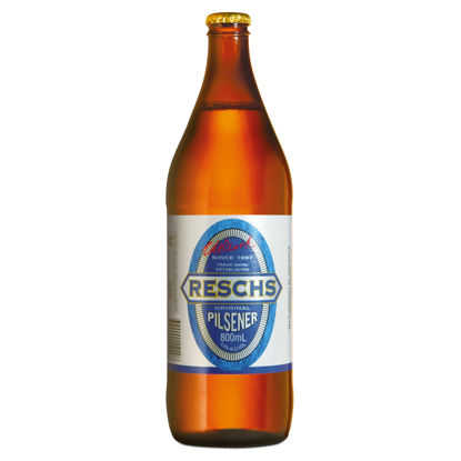 Picture of Reschs Draught Long Neck Single 750ml Bottle