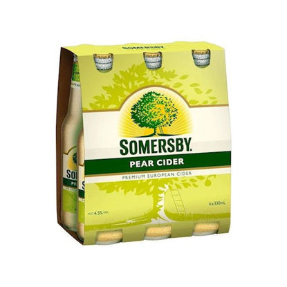 Picture of Somersby Pear Cider 330ml  x 6pk Bottle
