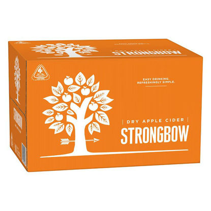 Picture of Strongbow Dry Apple Cider 330ml  x 24 Bottle-Carton