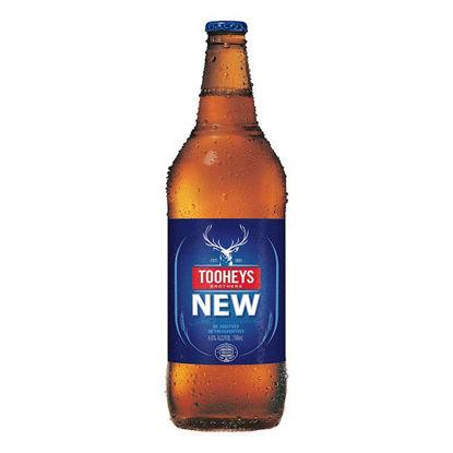 Picture of Tooheys New Long Neck Single 750ml Bottle