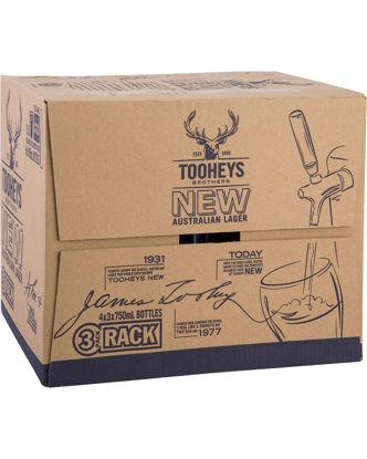 Picture of Tooheys New Long Neck 12Pk x 750ml Bottle