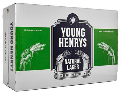 Picture of Young Henrys Natural Lager Can Carton