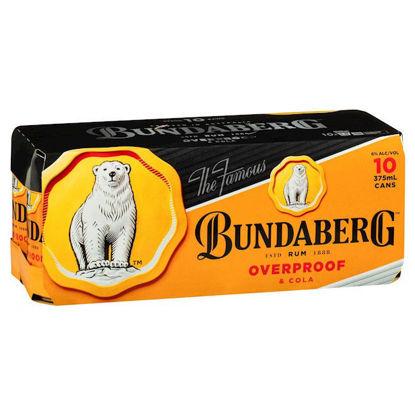 Picture of Bundaberg Op & Cola 375Ml 10Pk 10 Pk