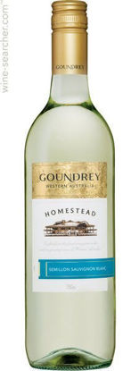 Picture of Goundrey H/Stead Sauv Blanc Bottle