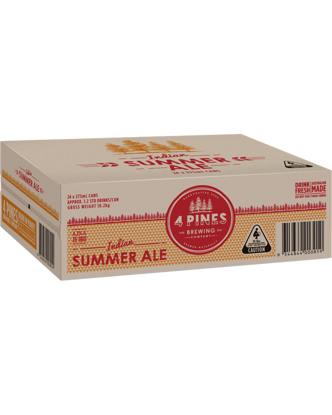 Picture of 4 Pines India Summer Ale Can Carton