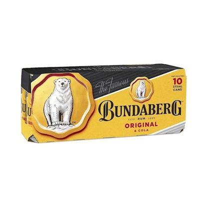 Picture of Bundy Up & Cola 375Ml 10Pk Carton