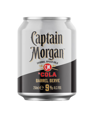 Picture of C/Morgan Cola 9% 250Ml Can 4 Pk
