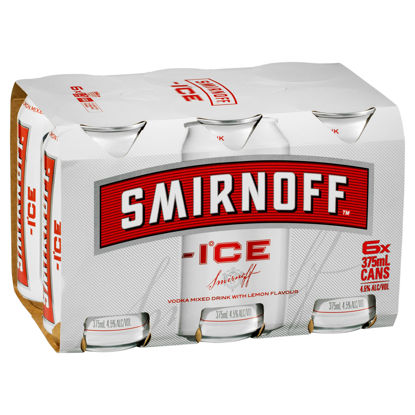 Picture of Smirnoff Ice Red 375Ml Can