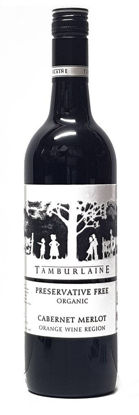 Picture of Tamburlaine P/F Cabernet Merlot 750ml