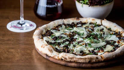 Picture of Truffle Mushroom Pizza