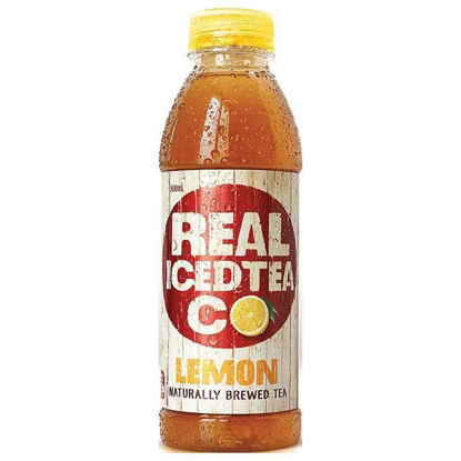 Picture of Real Iced Tea Co Lemon 500Ml